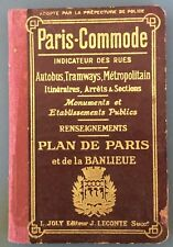 POST WWI ERA VINTAGE GAZETTE, MAP & GUIDE BOOK (PARIS)