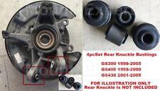 4pcSet Rear Knuckle Bushings for Lexus GS300 98 - 05 GS400 98 - 00 GS430 01 - 05