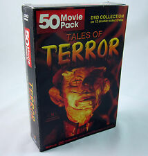 Tales of Terror DVD Collection 50 Movies Horror Classics Lugosi Karloff Chaney