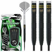 Winmau Daryl Gurney Darts - Steel Tip Tungsten - Special Edition - Black 23g 25g