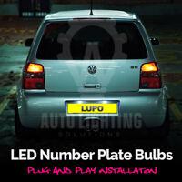 1x VW Lupo 6X1 6E1 Bright Xenon White LED Number Plate Upgrade Light Bulb