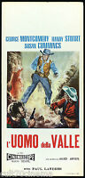L' Mens of Valley Film Movie Western Man from GOD'S COUNTRY Playbill Poster