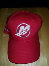 ***NEW*** MERCURY HAT OUTBOARD BOAT MOTORS - RED & WHITE. FREE SHIPPING