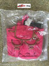 Damen Tasche Handtasche Umhängetasche Shoppen Rucksack fuchsia