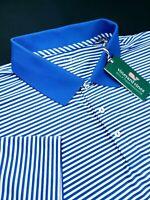Vineyard Vines Performance Stripe Golf Polo Shirt 2XL Spinnaker