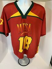 Mesa Fresh #18 Mens Xl Red Lacrosse Jersey