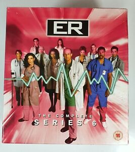 ER- The Complete Series 6 On VHS Video Episodes 1-22 New Sealed