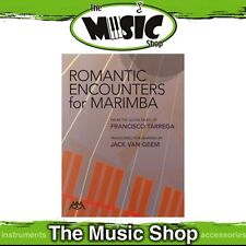 New Romantic Encounters for Marimba Music Book