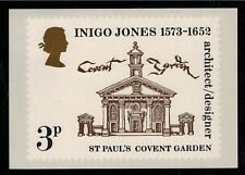 GREAT BRITAIN 1973  PHQ CARD INIGO JONES Number  No 2 -  SCARCE *