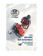 Polaris Owners Manual Book 2005 900 RMK