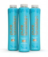Pure Brazilian 90 minute, 3-step system professional keratin smoothing treatment