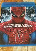 The Amazing Spider-Man (Blu-ray/DVD, 2012, 3-Disc Set)
