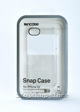 Incase Snap Hard Cover Case iPhone SE iPhone 5S iphone 5 SeeThru Clear OPEN BOX