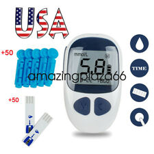 FDA Blood Glucose Starter Set Sugar Meter Monitor Diabetes/ test strips/Lancets