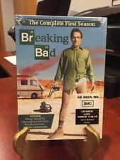 Breaking Bad: The Complete First Season (DVD, 2009, 3-Disc Set) Mfg. Sealed