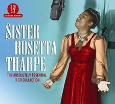 The Absolutely Essential 3 CD Collection Sister Rosetta Tharp 0805520131223