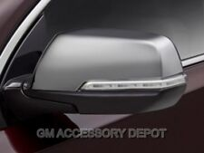 2018 Chevrolet Traverse OEM Bright Chrome Rearview Mirror Covers NEW GM 23333669