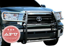 APU 2007-2013  Toyota Tundra Stainless Steel Front Grille Brush Bumper Guard