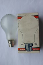 Pack 10 Osram Incandescent 150w BC B22 Bayonet Cap Pearl Bulbs Lamps Made Italy