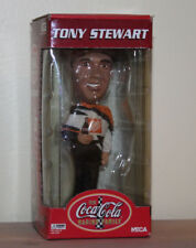 Tony Stewart Coca Cola Coke Bobble head Nascar Racing #20 New Boxed 2002 Vtg