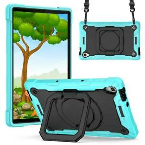 For Lenovo Tab M10 HD TB-X306F/X Shockproof Kids Silicone Stand Case Cover Strap