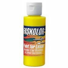 Parma Faskolor FASLUCENT YELLOW #40310 Airbrush Paint Slot Car 1/24 Mid-America