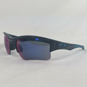 Oakley Quarter Jacket Youth Sun Glasses Polished Navy Blue Red OO9200-04