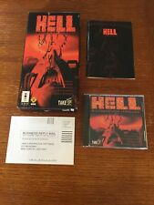 HELL A Cyberpunk Thriller (Panasonic 3DO, 1994) Complete in Long box w Manual