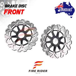 AU 2x Front Brake Disc Rotor Kit For Yamaha FJR 1300 ABS 03-15 04 05 06 07 08