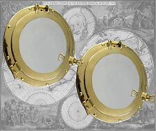 2 Stück Bullauge als Spiegel, Durchmesser ca. 30cm (M)