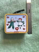 Raggedy Ann & Andy & Snowden LIMITED EDITION MINI LUNCH BOX TIN METAL 1998