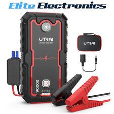 UTRAI 22000mAh Car Jump Starter Power Pack Battery Charger Emergency LED Light