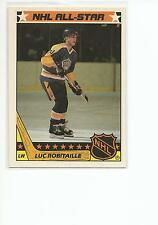 LUC ROBITAILLE 1987-88 Topps ROOKIE STICKER card #12 Los Angeles Kings NR MT