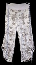 plus sz S-M/ 18 TS TAKING SHAPE Glitter Crop Pants soft stretch comfy NWT rp$120