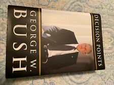 President George W. Bush Signed Decision Points Book Autographed 1St Ed. Mint