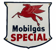 Mobil Special Gas Porcelain Advertising Sign