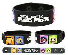 The Black Eyed Peas Rubber Bracelet Wristband The Beginning Monkey Business