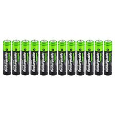 12x Lloytron AAA Rechargeable Batteries NiMH High Capacity 1100mAh - Value Pack