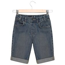 Boys Denim Shorts Kids Blue Short Knee Length Summer Adjustable Waist