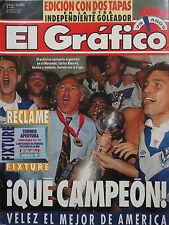 VELEZ SARSFIELD Champion Libertadores Cup 1994 vs SAO PAULO - Magazine