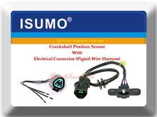 Crankshaft Position Sensor w/ Connector For Mitsubishi Mirage 1997-2002 L4 1.5L