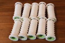 10 Medium Clairol Style Setter Hot Rollers Curlers Replacement Prom Dance Cheer