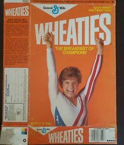 Mary Lou Retton Wheaties Collectable Box
