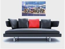 """Piastrella mosaico addosso senza confini Muro Poster 32""""x 24"""" giochi di ruolo Cosplay Gamer"""