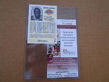 Magic Johnson authiorized signature card