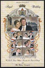 Guyana 2002 / Koningspaar Willem Alexander en Maxima huwelijk 2 febr 2002 PF ***