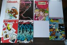 1980'S ELEMENTALS. COMICO THE COMIC COMPANY LOT.  TWO #1's PLUS MISC