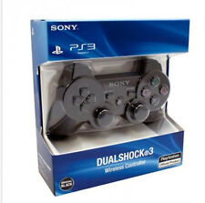 PS3 Controller Wireless Sony Playstation 3 -  Black  - Dual Shock - Six Axis