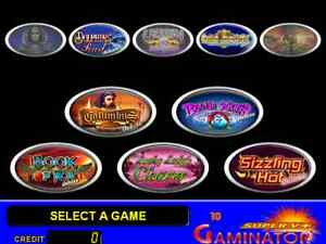 GAMINATOR ORIGINAL DELUXE  Systems for Slot Machine Professional Software