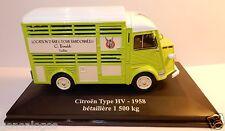 ELIGOR HACHETTE CITROEN TYPE HV HY 1958 BETAILLERE 1500 KG 1/43 blister BOX NEUF